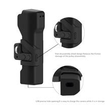 Osmoポケットカメラバッグポータブルケース保護ボックスリストストラップdji osmoポケットカメラジンバルアクセサリー