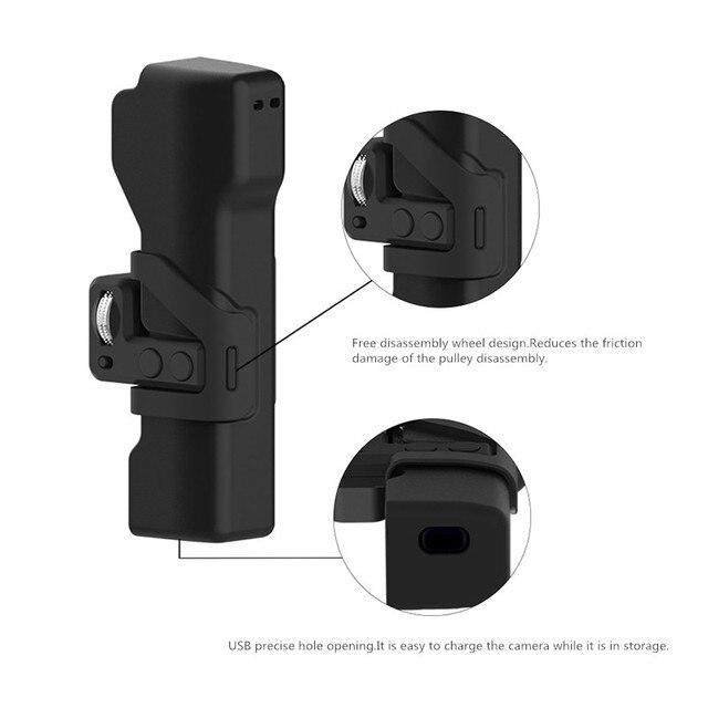 אוסמו כיס מצלמה תיק נייד מקרה הגנת תיבת עם יד רצועות לdji אוסמו כיס מצלמה Gimbal אבזרים