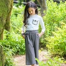 Girls Set Autumn new fashion casual pure cotton two-piece set girls boutique outfits elegant dress