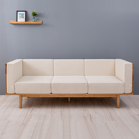 The Size Of The Apartment Living Room Furniture Sofa Fabric Sofa Modern  Minimalist Scandinavian Trio Of Solid Wood Sofa In Hotel Bedroom Sets From  Furniture ...