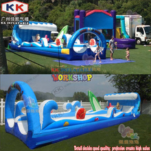 inflatable surf slip  slide New creative inflatable water park