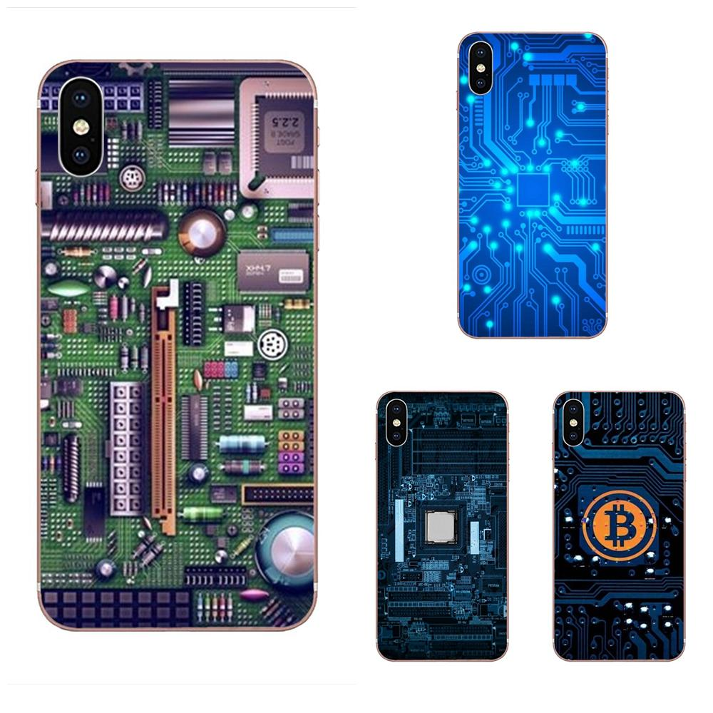For <font><b>Galaxy</b></font> Grand A3 A5 A7 A8 A9 A9S On5 On7 Plus Pro Star 2015 2016 2017 2018 TPU Mobile Technology Circuit <font><b>Motherboard</b></font> image