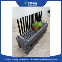 Antecheng новый дизайн Лидер продаж 16 портов gsm модема wavecom Q2406B поддержку смс send/receive, USSD, СТК, команду AT