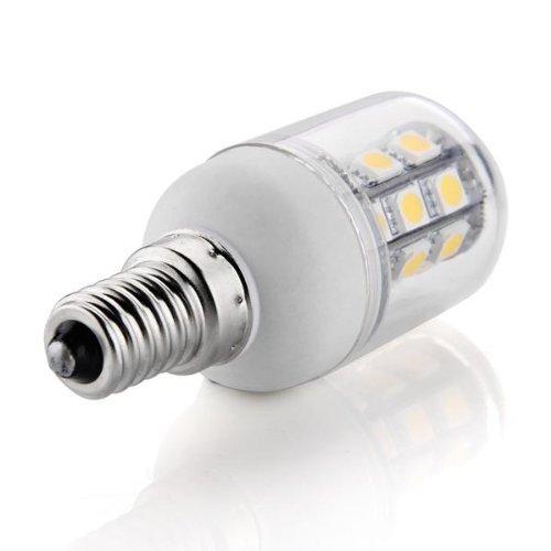 10 x Bombilla Lmpara Foco Luz Blanco Clido E14 30 LED 5050 SMD 6W AC 220V-240V white