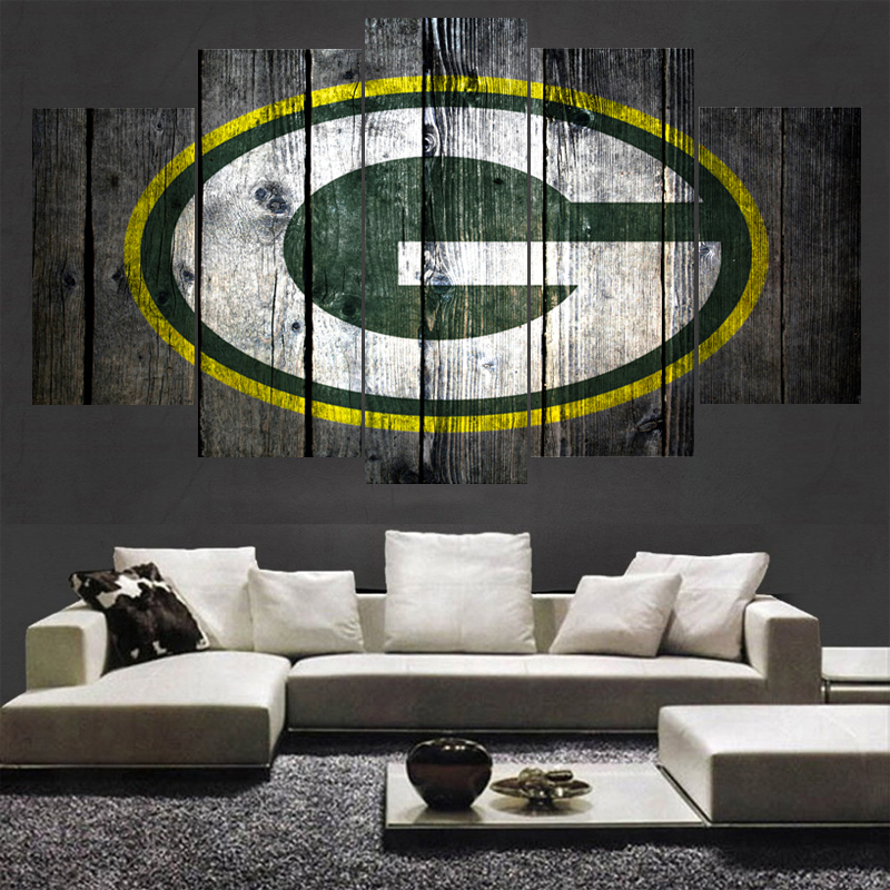 Green Bay Packers Logo Paintings