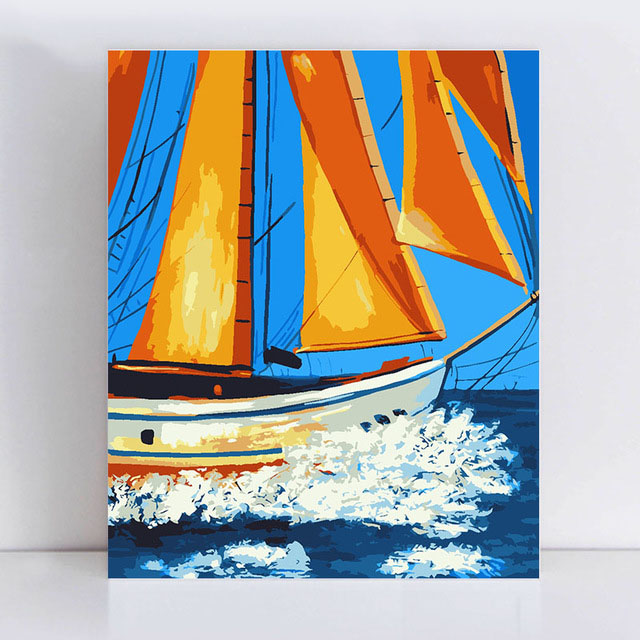 Painting By Numbers Art Paint Number Paintings Drawing