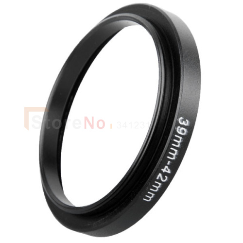 2pcs Lens Filter Adapter ring 39mm-42mm 39-42mm 39 to 42 Step Up Ring Lens Filter Adapter ring