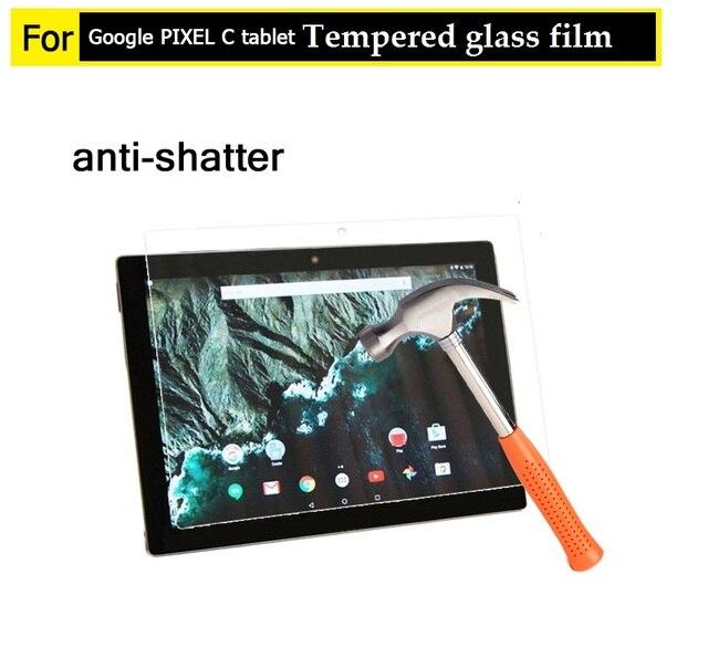 """10.2 """"mejor premiem 0.3mm 9 H Vidrio Templado de cine para Google Pixel C 10.2"""" comprimido hd frontal Anti-añicos Protector de Pantalla de cine"""