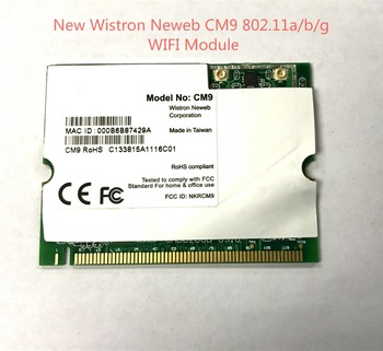 Wireless Adapter Card for Wistron Neweb Atheros AR5213 CM9 MINI PCI a b g wireless wifi card