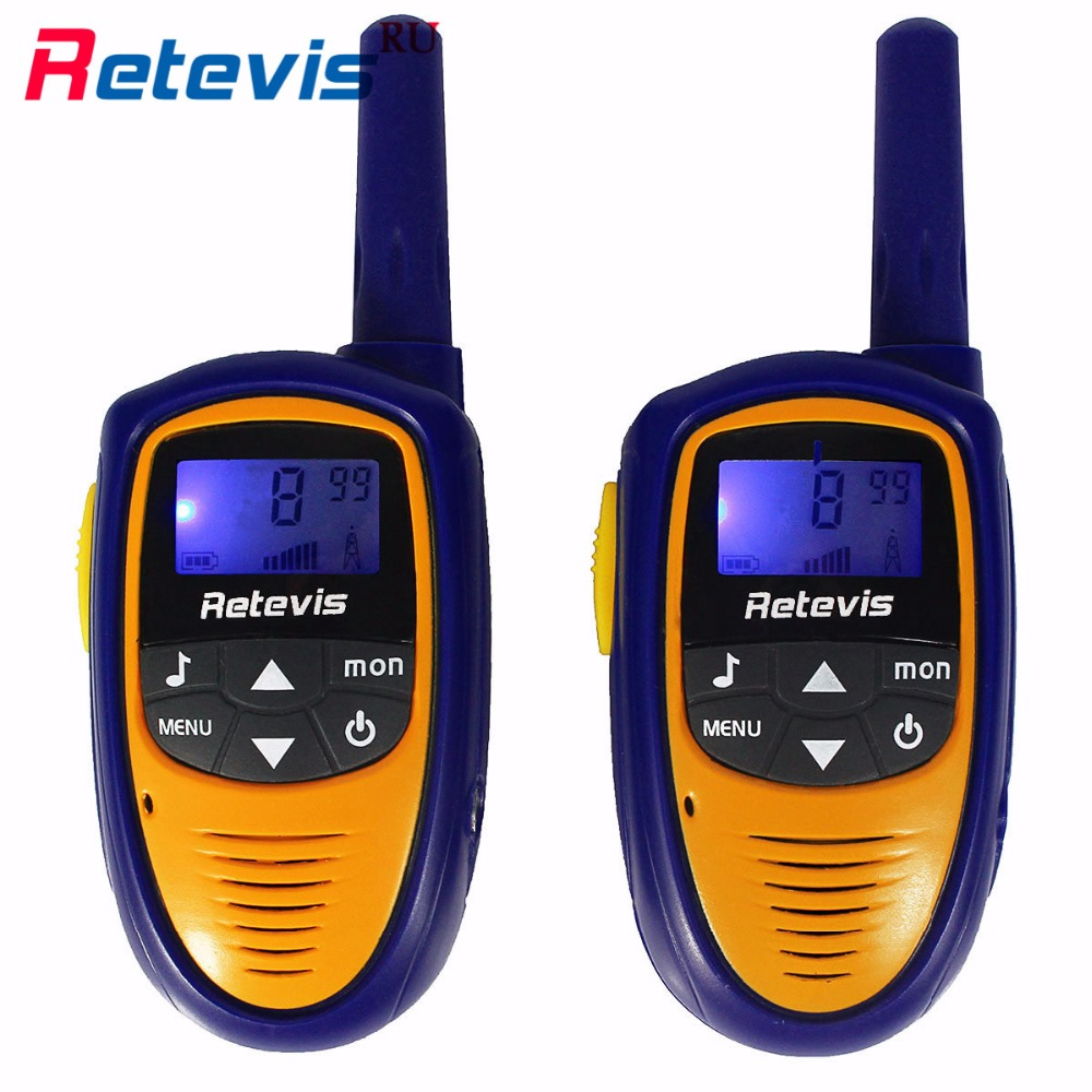 2pcs Mini Body Children Walkie Talkie Retevis RT31 0 5W PMR VOX LCD Display Squelch Two