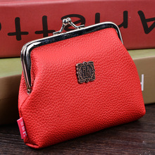 Money famous coin cosmetic handbag key pu purse wallet top holder