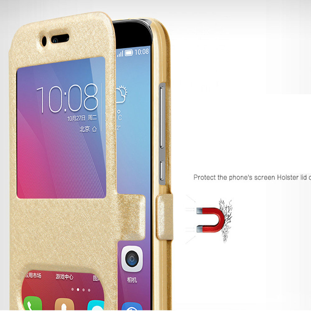 more photos 2f7cb 2ad5e US $3.99 |For Samsung Galaxy J7 Nxt J701F case flip cover dual window  leather case plastic hard stand cover for Samsung J7 Neo J701M case-in Flip  ...