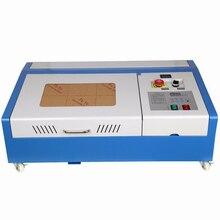СО2 принтер 40 Вт USB DIY Лазерный гравер резак гравировальный станок для резки