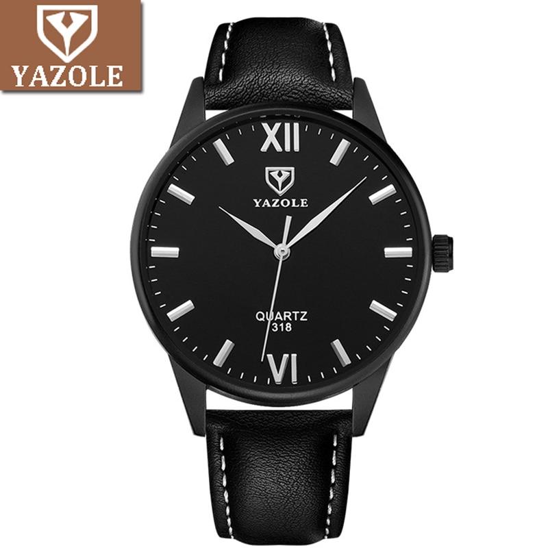 YAZOLE Business Watch Men Top Luxury Brand Famous Quartz Wristwatch 2018 New Wrist Watches For Men Clock Male Hour Hodinky Man все цены