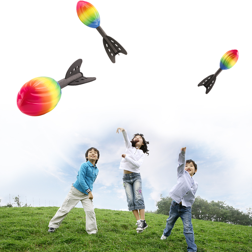 toys outdoor sports fun toy sport children flying rocket safe foam games child throwing parent hand popular team smell spirit