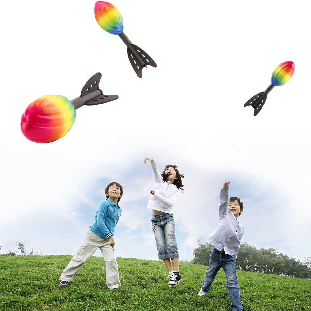 Outdoor Fun Toy Sports Foam Sport Flying Rocket For