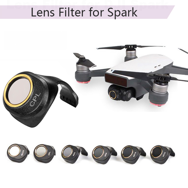 Camera Lens Filter CPL MCUV ND4 ND8 ND16 ND32 Filters For DJI SPARK Self-inspection Drone Accessories HD Protector For DJI SPARK