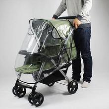 Аксессуары для детских колясок, Универсальный прозрачный водонепроницаемый дождевик, защита от ветра и пыли, детская коляска, коляска, дождевик для младенцев