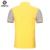 Camisa de Polo dos homens 100% Algodão de Mangas Curtas Xadrez Famosa Marca Contraste Cor Anti-Rugas Personalidade Clássico Dos Homens Do Polo camisa