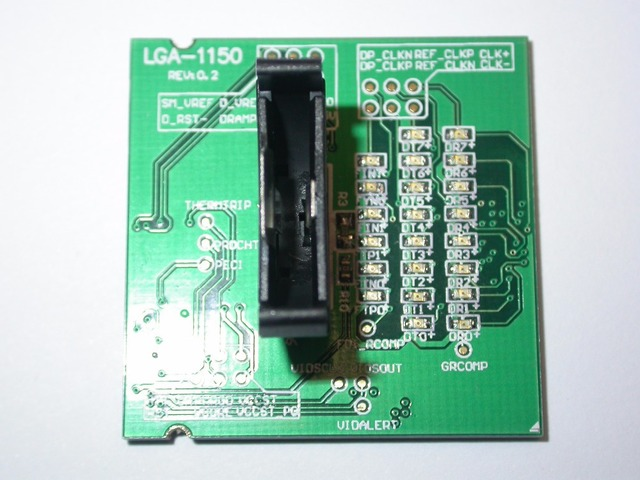 US $65 79 |5 Pieces New Laptop LGA 1150 LGA 1150 Fake Loading Board Test  Card CPU Socket Tester including DHL Shipping to Brazil-in Integrated