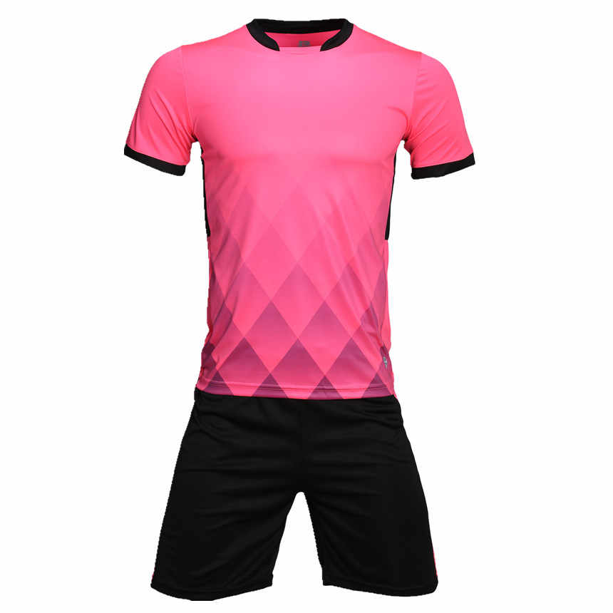 高品質サッカーセットジャージ男性サッカーユニフォームシャツジャージトレーニングスーツスポーツ服ショーツカスタム番号名称ロゴ