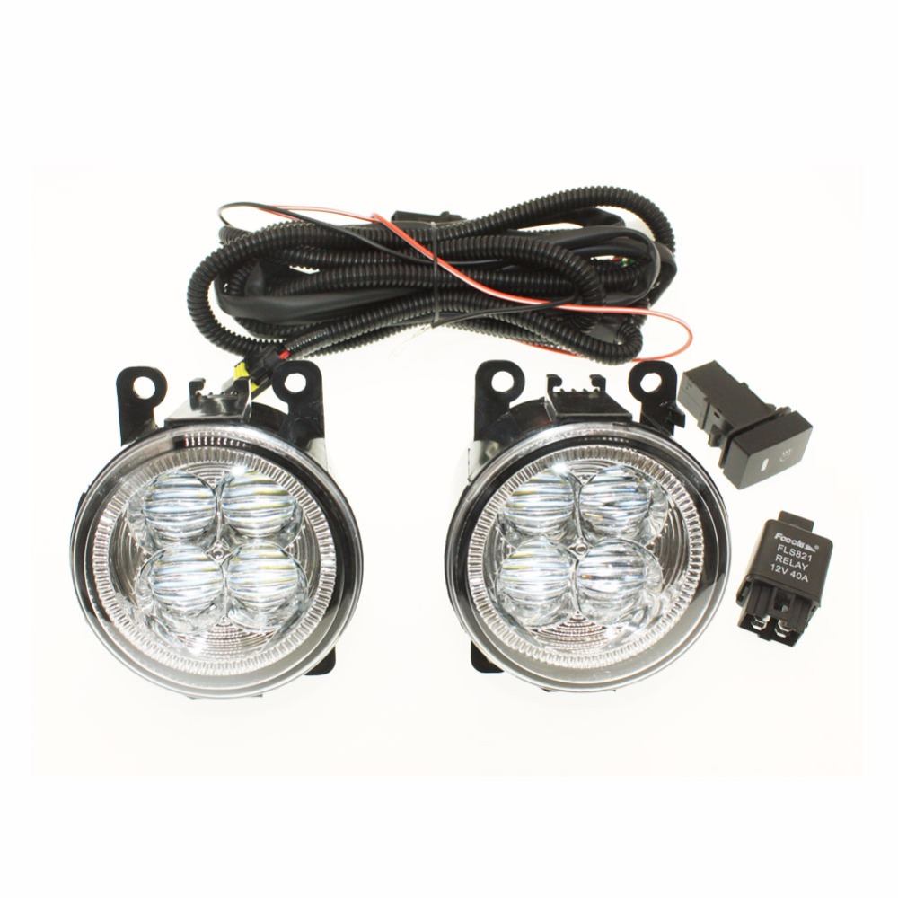 For Vauxhall Astra Mk Iv H11 Wiring Harness Sockets Wire Connector Switch 2 Fog Lights Drl Front Bumper 5d Lens Led Lamp In Car Light Assembly From