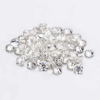 Loose moissanites stone 1ct/pack EF color Round  0.8mm  Brilliant cut Moissanites  Syntheti diamonds stone High Quality