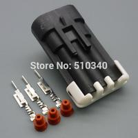 100set 3pins 1.5mm automotive waterproof jacket vehicles equipped with male wire harness electrical connector