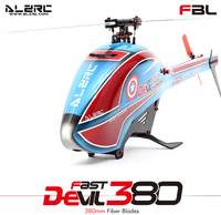 ALZRC Devil 380 FAST FBL KIT/Black/2016 Empty Machine/Standard Combo/Super Combo RC Helicopter drone