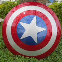 HOT Avengers Civil War Captain America 57CM metal color Shield 1:1 Cosplay Steve Rogers ABS model adult shield replica