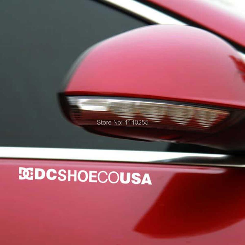 Aliauto Car Stickers Ken Block Damon Way Dc Schoen Auto Sticker Voor Tesla Toyota Ford Chevrolet Volkswagen Vw Honda Hyundai kia Lada