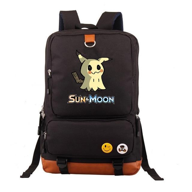 Рюкзак покемоны в ассортименте коричневый
