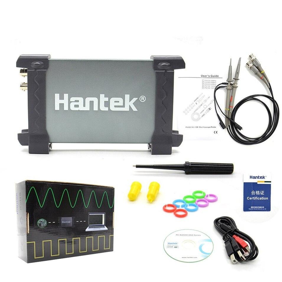 Hantek 6022BE Oscilloscope PC-Based USB Digital Storag 2Channels 20MHz 48M Sa/s осциллограф hantek 6022be usb storag 2channels 20 48msa s
