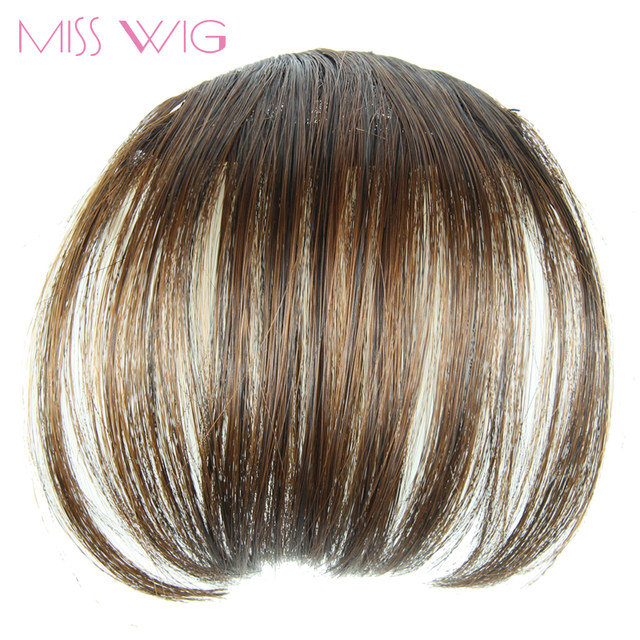 Online Shop Miss Wig 4colors Available Girls Front Neat Bang Hair