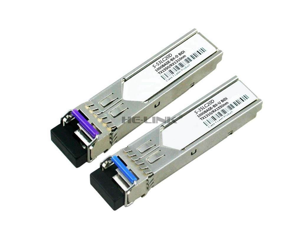 LODFIBER S-35LC20D/S-53LC20D Mi-kro-Tik Compatible 1.25G 1310/1550nm BiDi 20km TransceiverLODFIBER S-35LC20D/S-53LC20D Mi-kro-Tik Compatible 1.25G 1310/1550nm BiDi 20km Transceiver