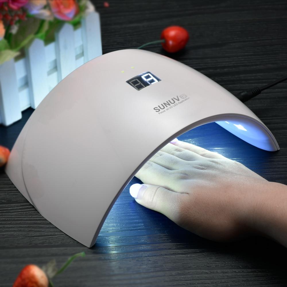 SUNUV SUN9c SUN9s 24W UV LED Lamp for Nails LED Dryer Polish Machine ...