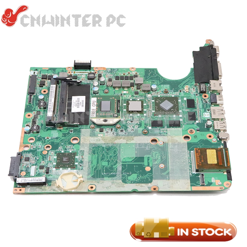 NOKOTION For HP Pavilioin DV7 DV7-2000 Laptop motherboard 509403-001 DAUT1AMB6D0 DDR2 <font><b>HD</b></font> <font><b>4650</b></font> graphics free cpu image