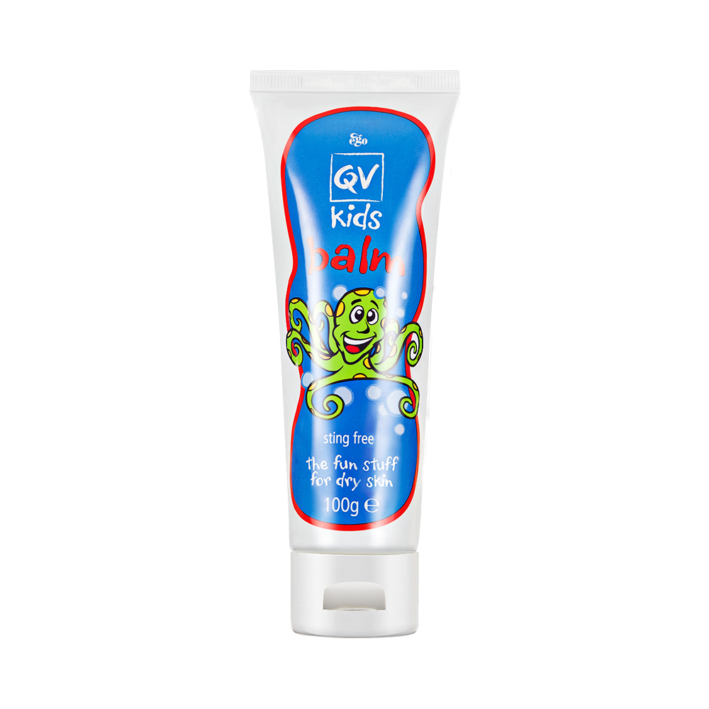 Australia QV Kids Balm Moisturizing Treatment for Dry Skin Eczema Reduce Stinging Hand Foot Bath Body Lotion for Children image