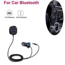 Car FM Transmitter For Bluetooth Handsfree AUX MP3 Player Radio Adapter Charger(China)