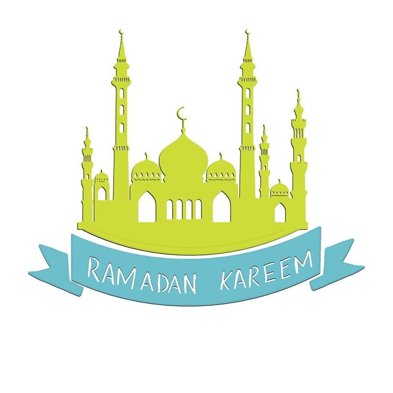 Image 3 - Islam Ramadan Eid Mubarak Muslim Metal Cutting Die Stencils  Template for Scrapbooking Card Album Embossing Decor DIY Crafts  GiftCutting Dies