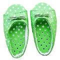 [wamami] 1/3 Green Star Sandals/Slippers BJD SD AOD DOD Dollfie Shoes