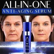 Sérum pour le visage Anti-âge, Bleu saphir, produit pour améliorer et transpirer la peau, blanchissant, Anti-rides, 10ml