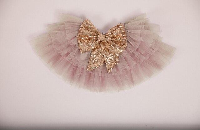 2016 новый блестками с бантом торт юбка для детей, Принцесса мода конфеты танец носить оптовая продажа 5 шт./лот, Бесплатная доставка