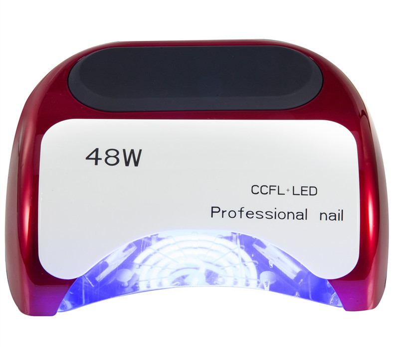 Professional 48W LED UV Lamp for Curing Nail Gel Polish Nail Lamp for Nail Art Tools with EU AU US UK Plug cnhids in 24w professional 9c uv led lamp of resurrection nail tools and portable package five 10 ml soaked gel nail polish
