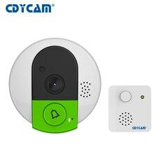 Cdycam smart ip Камера 720 P Wi-Fi сигнал doorcam Камера Дверные звонки Ночное видение сигнализации doorcam для дома Suppor 128 ГБ карты
