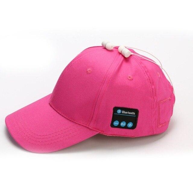 32a51e53262 Wireless Bluetooth Hat Outdoor Sports Baseball Cap Headphones Call Music  Sun Cap Wholesale