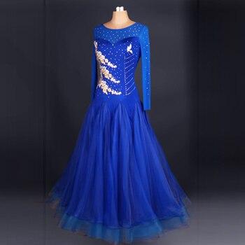 Новые Бальные Танцевальные костюмы сексуальные спандекс с длинными рукавами бальных танцев платье для женщин бальных танцев конкуренции платья