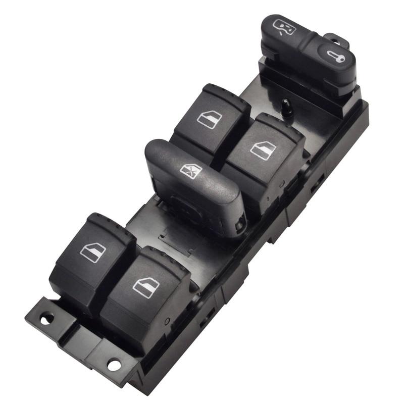 Mestre interruptor da janela de energia botão preto para volkswagen vw golf 4 jetta mk4 bora beetle passat b5 1j4 959 857d