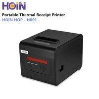 HOIN HOP H801 58mm/80mm Portable Thermal Receipt Printer ESC / POS Printing Support 1D/2D barcode for Restaurant Supermarket