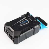 Vacuum Portable Notebook Laptop Cooler USB Air External Extracting Cooling Fan for Laptop Speed Adjustable for 15 15.6 17 Inches